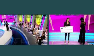 My Style Rocks: Κέρδισε τα 2.500 ευρώ και δεν το πίστευε!