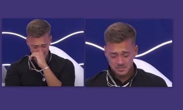 Big Brother: Πλάνταξε στο κλάμα ο Χρήστος Βαρουξής - Τι συνέβη;