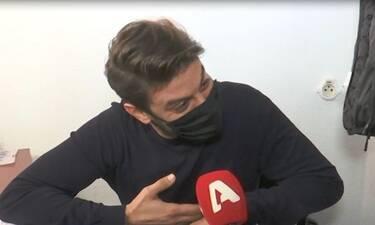 Σοβαρό ατύχημα για Έλληνα ηθοποιό: «Έκοψα τένοντες και νεύρα στο χέρι μου»
