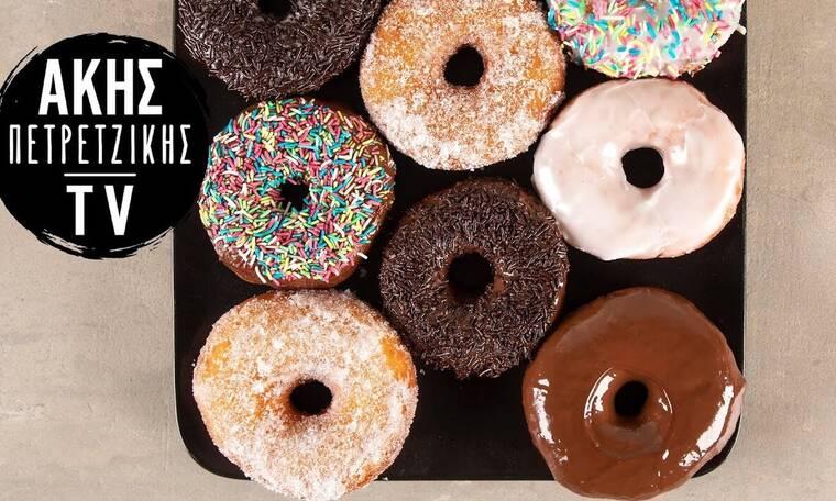 Ένα διαφορετικό donuts με πατάτα από τον Άκη Πετρετζίκη