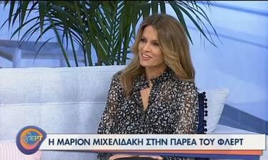 Μάριον Μιχελιδάκη: «Η ΕΡΤ μού εμπνέει εμπιστοσύνη, έχω χημεία με το κανάλι»