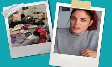 Θύμα διάρρηξης η Μαίρη Συνατσάκη! Εικόνες χάους μέσα από το σπίτι της! (pics)