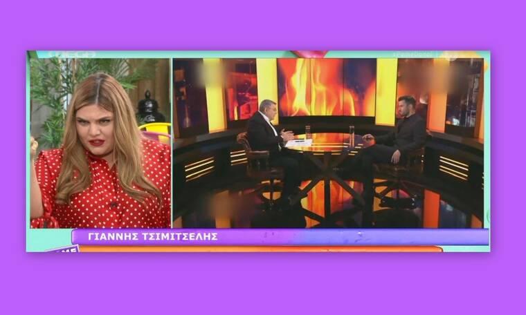 Χαμός στην εκπομπή Πάμε Δανάη για τη συνέντευξη του Τσιμιτσέλη στον Χατζή