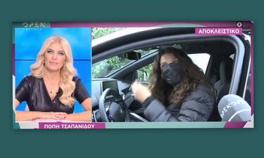 Πόπη Τσαπανίδου: Η πρώτη αντίδραση για την επιστροφή της στην τηλεόραση
