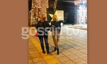 Αποκλειστικό: Μπέσυ Μάλφα: Η τελευταία βόλτα με την κουμπάρα της πριν το lockdown