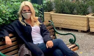 Μενεγάκη: Έτσι περνάει στο σπίτι της στα Μελίσσια τις πρώτες ώρες του lockdown!