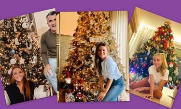 Οι Έλληνες celebrities σε χριστουγεννιάτικο mood! Στόλισαν τα δέντρα τους!