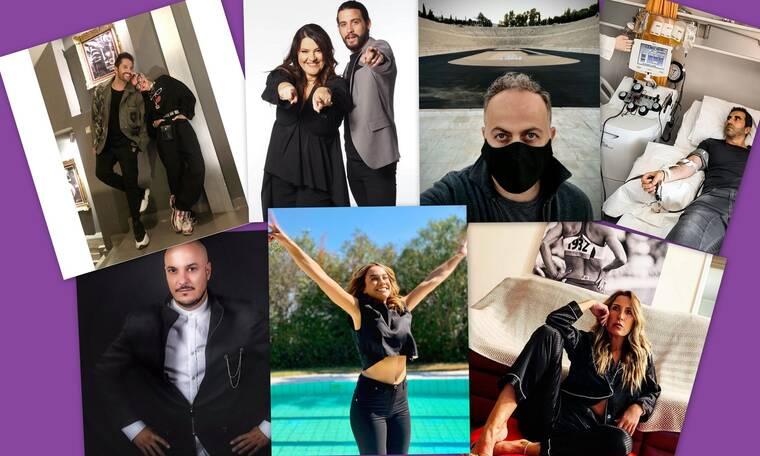 Έλληνες celebrities – Δεύτερο κύμα κορονοϊού: Σημειώσατε διπλό! (photos)