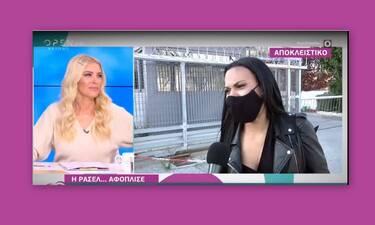 GNTM: Η πρώτη αντίδρασή της Ρασέλ μετά την αποχώρηση του Παναγιώτη