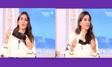 Σταματίνα Τσιμτσιλή: Έμεινε άφωνη με την ατάκα του Φραγκολιά on air!
