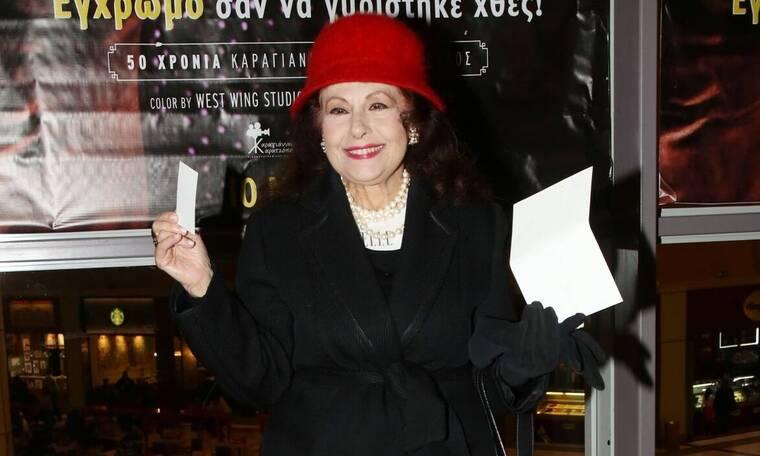 Ελένη Ανουσάκη: Αποκαλύπτει τον ηθοποιό που την έβγαλε στον κινηματογράφο