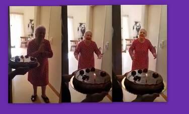 Μαίρη Λίντα: Η έκπληξη γενεθλίων στο Γηροκομείο – Η συγκίνηση και τα δάκρυα