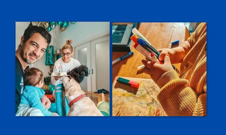 Aναστασιάδης - Θεωνά: Δες φωτογραφίες από το παιδικό δωμάτιο του γιου τους!