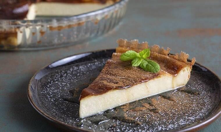 Αυτή τη γαλατόπιτα του Πετρετζίκη θα τη λατρέψεις!