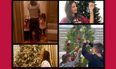 Η ελληνική σόουμπιζ στόλισε χριστουγεννιάτικο δέντρο! (photos+video)