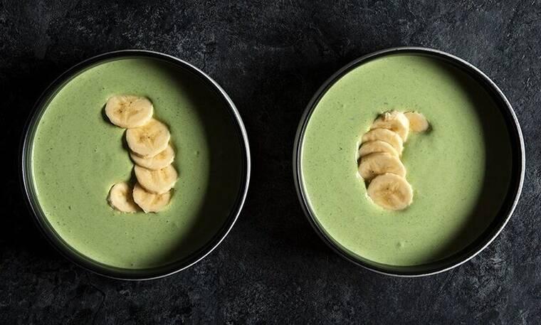 Γιαούρτι με σπανάκι και μπανάνα από τον Άκη Πετρετζίκη!