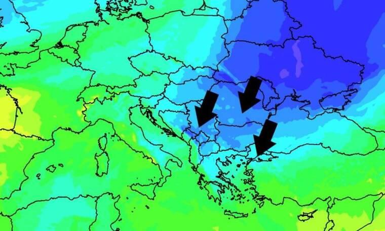 Καιρός: O «Ωμέγα» εμποδιστής φέρνει πολύ κρύο απ' τη Ρωσία. Νέα προειδοποίηση...