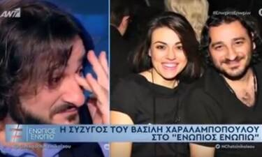 Ενώπιος Ενωπίω: Λύγισε ο Βασίλης Χαραλαμπόπουλος on camera - Τι συνέβη;