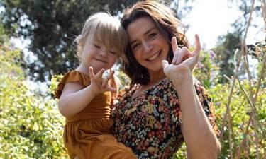 Συγκλονίζει η ιστορία της πρωταγωνίστριας του Grey's Anatomy με την κόρη της που πάσχει από Down