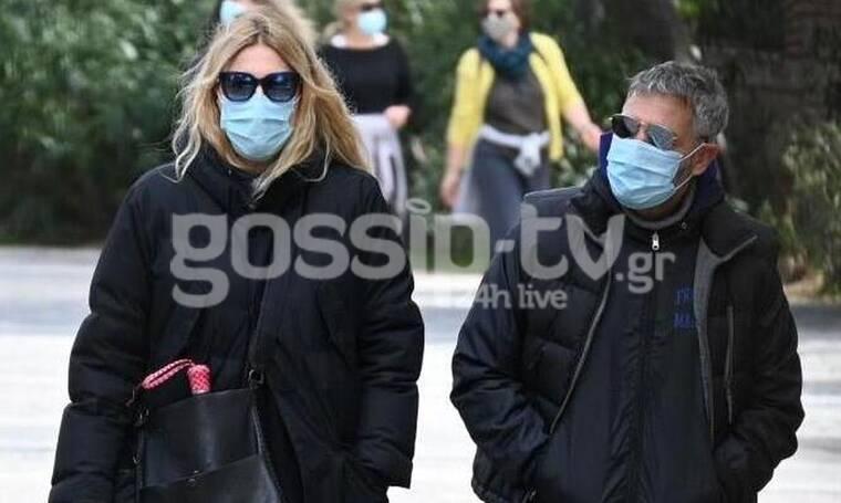 Σπάνια εμφάνιση για Αθερίδη – Καρύδη στο κέντρο της Αθήνας! (photos)