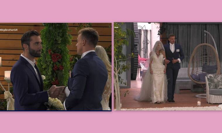 "Big Brother: Σήμερα γάμος γίνεται! Η Άννα Μαρία ντύθηκε νύφη και ο Κεχαγιάς ""έμεινε"""