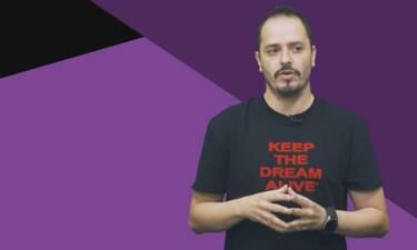 O Aλέξανδρος Τσουβέλας μιλάει για την Παγκόσμια Ημέρα του Άντρα (vid)