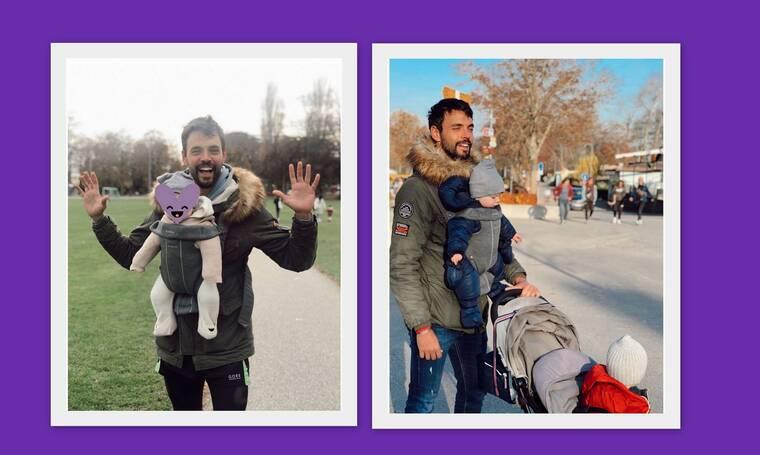 Ρένος Ρώτας: Οι φωτογραφίες με τα μωρά στο instagram και η αποκάλυψη του ηθοποιού