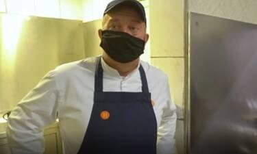 Εφιάλτης στην κουζίνα: Τόσα μπινελίκια δεν έχετε ξανακούσει! Απίστευτα «γαλλικά» on camera