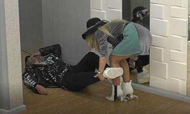 Big Brother: Η λιποθυμία του Πυργίδη αναστάτωσε την Άννα Μαρία - Στο πάτωμα ο παίκτης