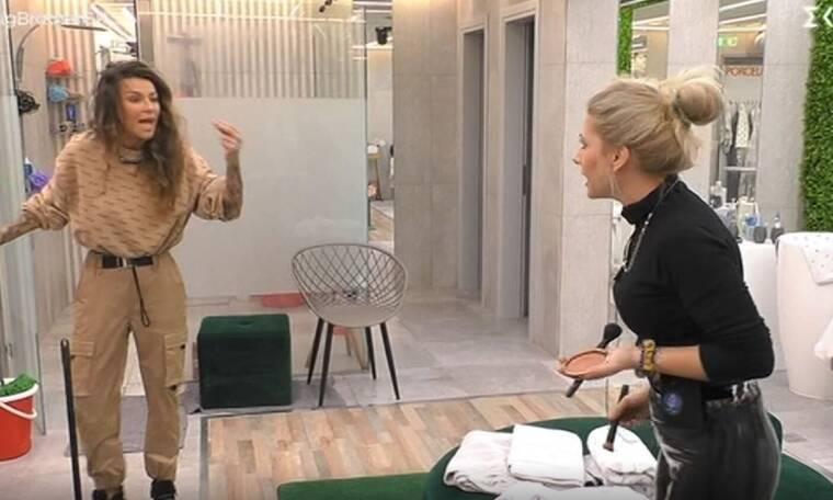 Big Brother: Άγριος καβγάς ανάμεσα σε Άννα Μαρία και Ραμόνα - Τι συνέβη;
