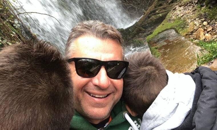 Γιώργος Λιάγκας: Δείτε τι φόρεσε ο γιος του και τον φωτογράφησε