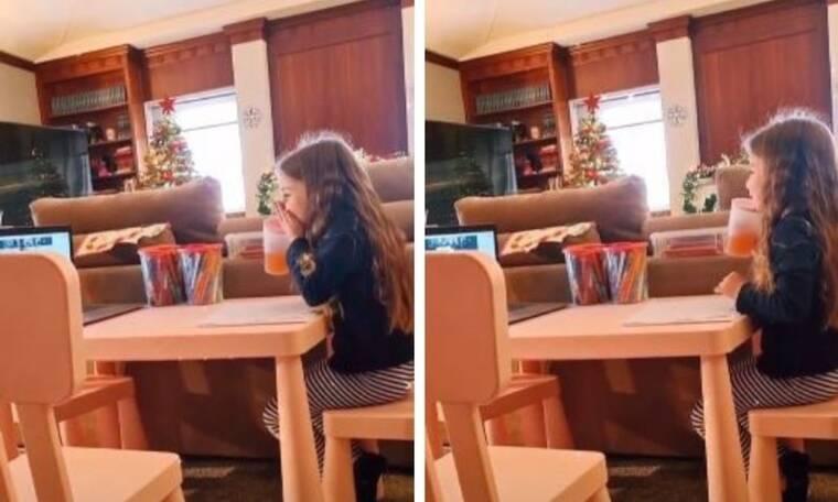 Το κοριτσάκι της φωτογραφίας είναι κόρη γνωστής Έλληνίδας μαμάς