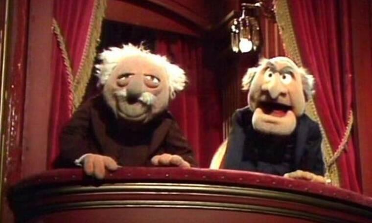 «Μας έχουν πει 35.000 φορές να κάνουμε τους γέρους του Muppet Show που γκρινιάζουν»