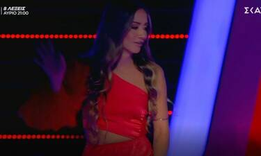 The Voice: Οι τσιρίδες και το τρακ! Ήθελε να φύγει από τη σκηνή!