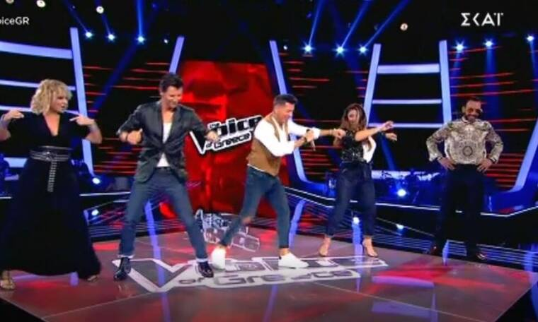 The Voice: Η ηλικία του παίκτη, ο χορός με τους κριτές και η ατάκα για την Μενεγάκη!