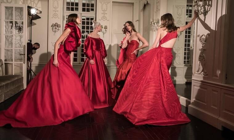 """Σήλια Κριθαριώτη: Παρουσίασε τη νέα της συλλογή """"Couture Red for Hope Xmas 2020"""""""