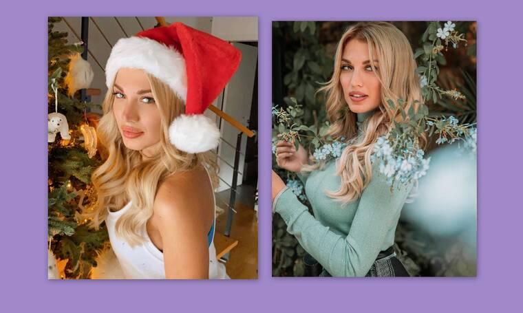 Κωνσταντίνα Σπυροπούλου: Η Χριστουγεννιάτικη διακόσμηση και η ευχή για το νέο έτος