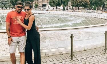 """Κορινθίου - Αϊβάζης: To διαφορετικό """"καυτό"""" φιλί τους στο instagram!"""