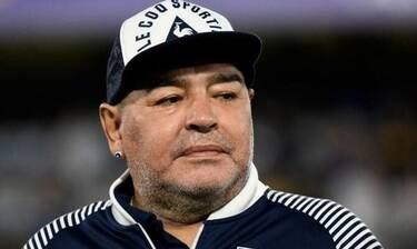 Ντιέγκο Μαραντόνα: Ανατριχίλα! Η τελευταία φωτογραφία με την κόρη του