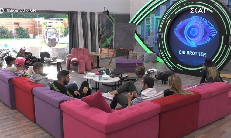 Big Brother: Αυτοί είναι οι τέσσερις υποψήφιοι προς αποχώρηση