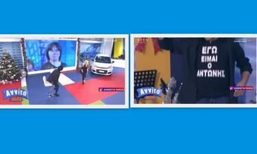 Αννίτα Κοίτα: Ο Αντώνης από την ατάκα - viral στην πρώτη του τηλεοπτική εμφάνιση!
