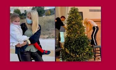 Μαρίνα Παντζοπούλου: Έβαλε το αστέρι στο χριστουγεννιάτικο δέντρο – Ιδού και η απόδειξη