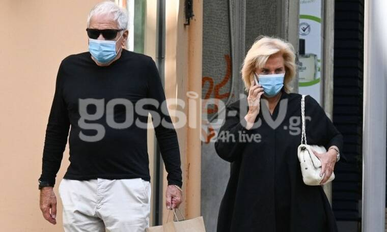 Αγνή Μπάλτσα: Σπάνια εμφάνιση με τον σύζυγό της