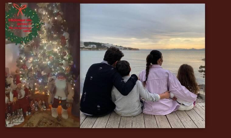 Κέλλυ Κελεκίδου: Φτιάχνει μελομακάρονα με τα παιδιά της