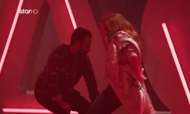 GNTM: Ο τρελός χορός του Άγγελου Μπράτη με την Ξένια! (video)