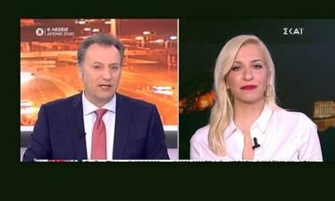 Οικονόμου - Αναστασοπούλου: Αναστάτωση στην εκπομπή του ΣΚΑΪ - Δείτε τι έγινε