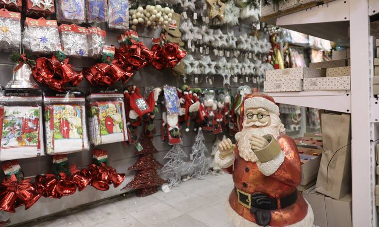 Lockdown: Τη Δευτέρα ανοίγουν τα καταστήματα με εποχικά είδη - Κλειστά τα μαγαζιά παιχνιδιών