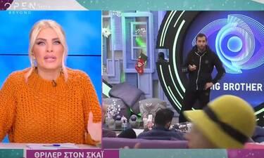 Big Brother: Θρίλερ: Έγινε σύσκεψη για το εάν έπρεπε να αποβληθεί ο Κεχαγιάς από το παιχνίδι