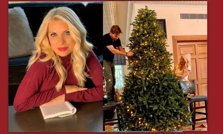 Ελένη Μενεγάκη: Αυτό το χριστουγεννιάτικο δέντρο την ενθουσίασε – Οι παιδικές αναμνήσεις!