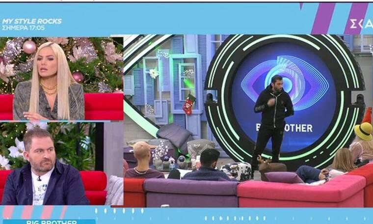 Big Brother: Άστραψε και βρόντηξε η Μαλέσκου κατά του Κεχαγιά
